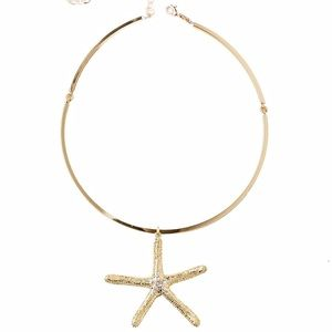 Lilly Pulitzer starfish choker